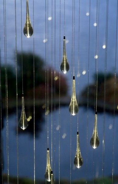 Light Shower by Bruce Munro. Photo by Mark Pickthall