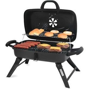 """13"""" Portable Charcoal Grill BBQ Backyard Tailgating Camping Patio Small RV Cook"""
