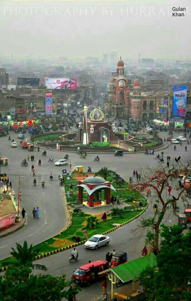 So beautiful cloudy weather over Multan city Punjab Pakistan