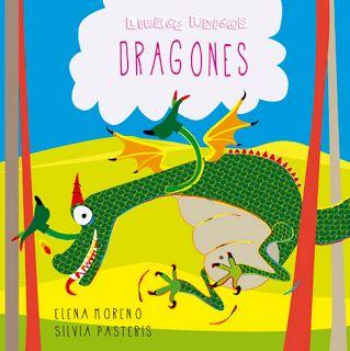 """""""Dragones"""" - Elena Moreno (Libros Únicos - Cuentos personalizados)"""
