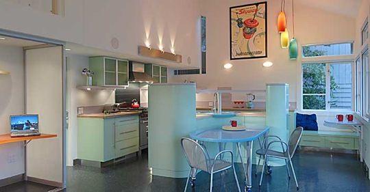 60's kitchen   The Jetsons -Style Kitchen in Jet City Seattle Magazine   Apartment ...