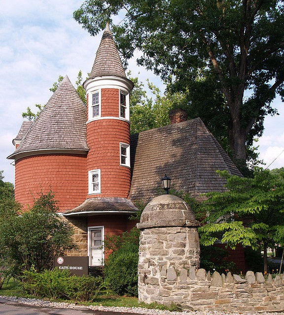 Gatehouse at Davis & Elkins College in West Virginia