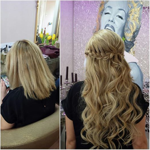 Wedding Hair Extensions Before And After Ideas