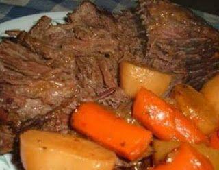 Crock Pot Roast   cooking for you