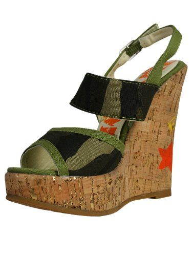 ED HARDY Designer Keilabsatz Schuhe - STAR -40 - http://on-line-kaufen.de/ed-hardy/40-eu-ed-hardy-keilabsatz-schuhe-star