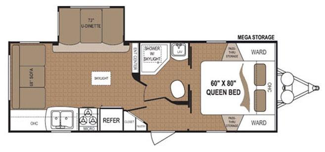 2013 Dutchmen Aspen Trail 2460RLS Rear Living Room Travel Trailer For Sale Only 27046