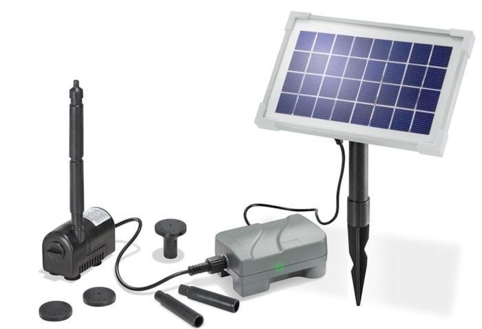 Solar Pumpensystem Rimini plus inkl. Akkubox  Esotec 101709