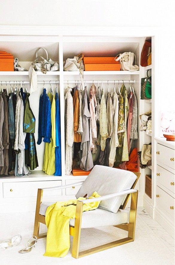 small closet organization tips pinterest walk in systems ideas linen