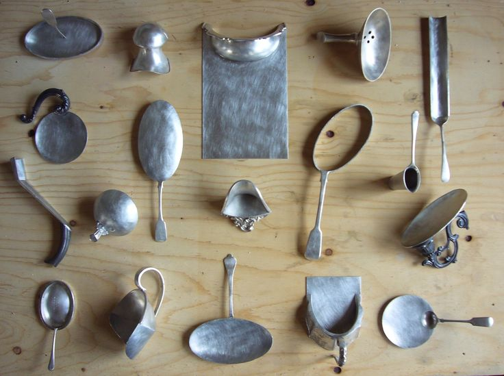 """More or Less"" spoon collection"