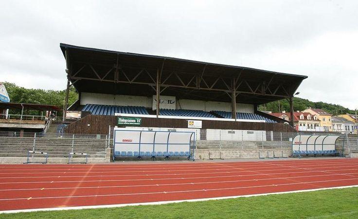 Fotbalová tribuna. Ilustrační foto.