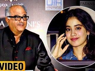 Boney Kapoor's Shows His Excitement On Daughter Jhanvi Kapoor's Bollywood Debut