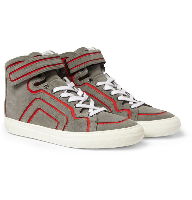 Pierre Hardy Suede High-Top Sneakers cheap sale outlet locations outlet cheapest price ilXAJ