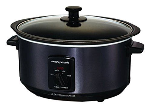 Morphy Richards Accents 48703 Sear and Stew Slow Cooker - Black: Amazon.co.uk…