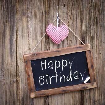 Felicitatie verjaardag