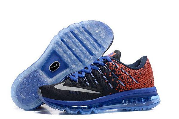 detailed look 22aaa a247a Womens Air Max 2016 Orange Black Blue Shoes Australia