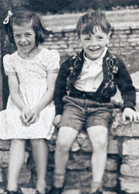 Barbara Wignall was aged seven and her brother Trevor was five when they witnessed a V2 bomb land near their home in London in 1945. Trevor remembers how happy they were because their school was damaged and they didn't have to go to school for a few weeks!