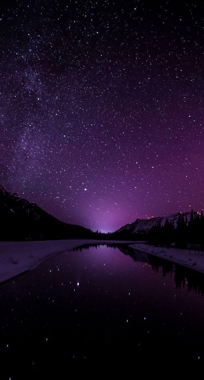 wallpaper iphone android sky stars night dark