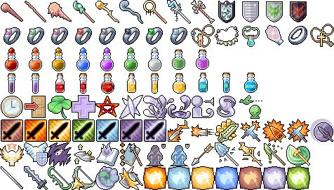 Extra 98 Free RPG Icons by 7Soul1.deviantart.com on @deviantART