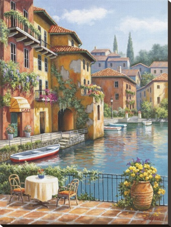 Cafe at the Canal - Sung Kim :)