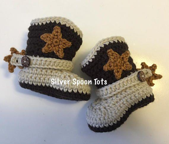 Botas de vaquero bebé botas de niño del bebé recién botas