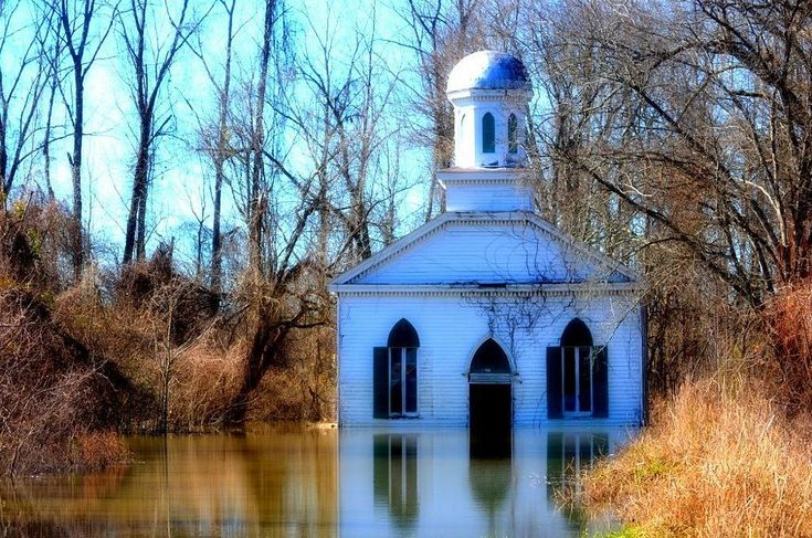 Rodney Ms flooded church  by reesegsd on YouPic