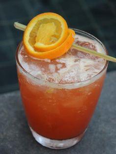 jus de fruit multivitaminé, jus d'orange, sucre de canne, rhum
