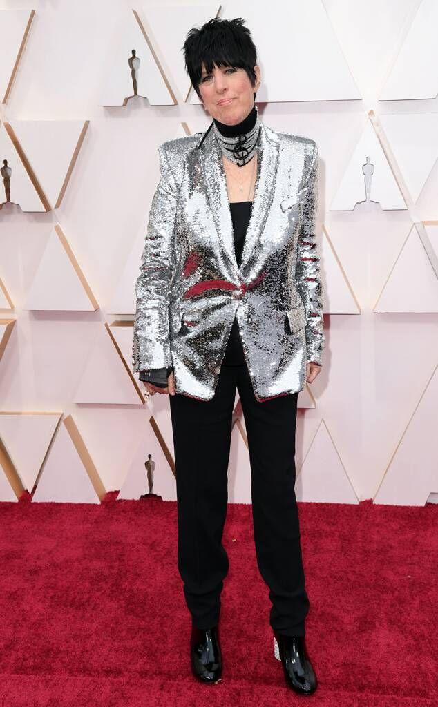 Diane Warren From Oscars 2020 Red Carpet Fashion Red Carpet Fashion Red Carpet Oscars Fashion