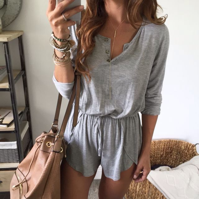 Love how cute and comfy his romper looks!