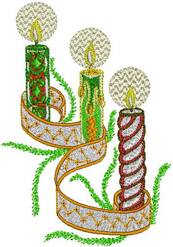 651 Best Machine Embroidery Christmas Images On Pinterest