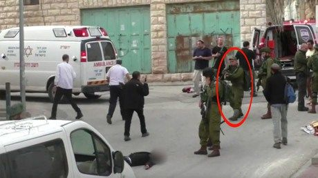 Blood-chilling VIDEO: IDF soldier seen shooting injured 'Palestinian attacker' http://ift.tt/21J4Aj6   Shocking footage has emerged online apparently showing an Israeli soldier executing a wounded Palestinian lying on the ground. The victim had reportedly been injured in retaliation for a stabbing attack before being cold-bloodedly shot in the head.Read Full Article at RT.com Source : Blood-chilling VIDEO: IDF soldier seen shooting injured Palestinian attacker  The post Blood-chilling VIDEO…
