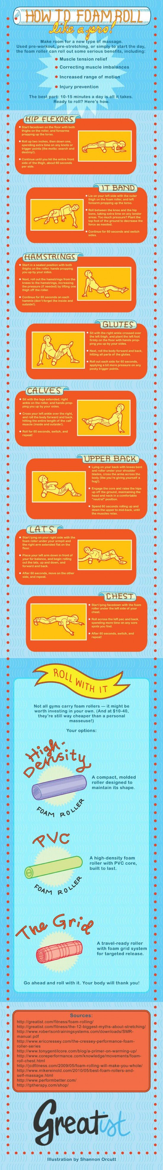how-to-foam-roll-like-a-pro (I loovee my foam roll - try to roll out daily!)