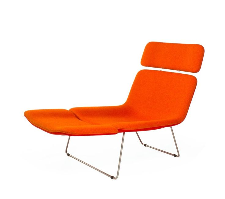Cappellini Spring Lounge Chair by Bouroullec Armchair Chaise Cassina DWR #Cappellini #Contemporary