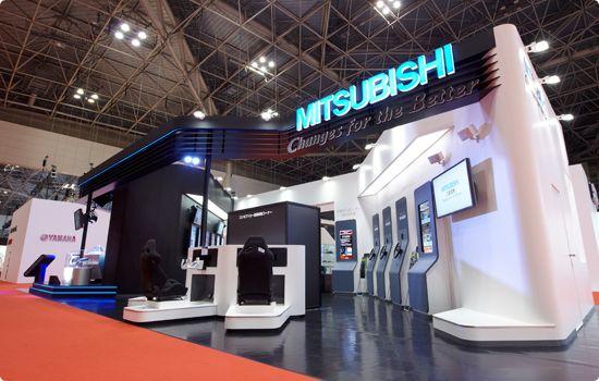 東京モーターショー2011 三菱電機ブース 展示会 イベント制作 制作実績 フジアール