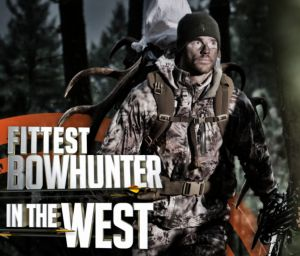 Prove you're the Fittest Bowhunter in the West. Check it out at TrainToHunt.com