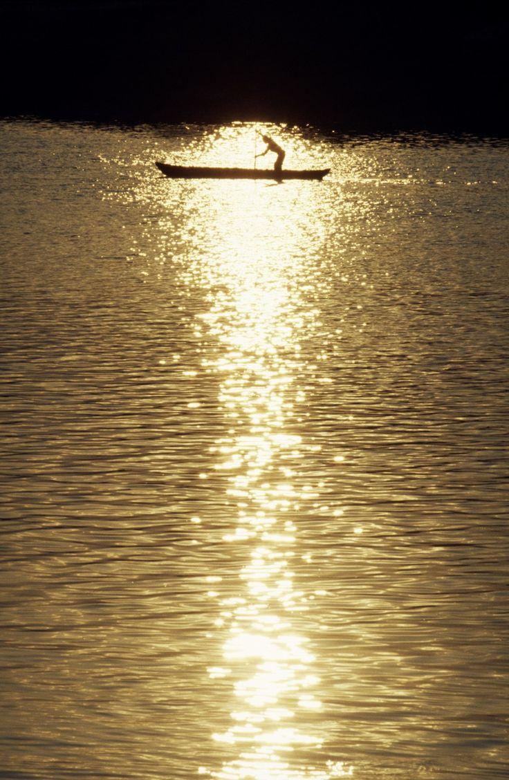 Rio Grijalva, Villahermosa, Tabasco, Mexico.  via Etsy. (c) David Ryan