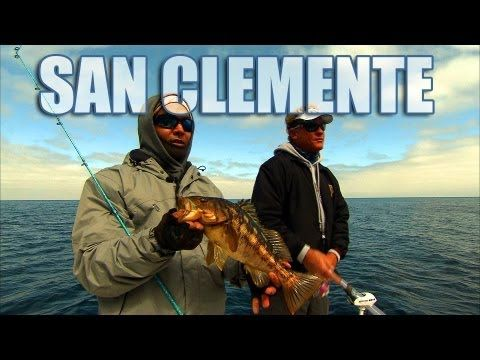 San clemente calico bass fishing off of southern for Youtube bass fishing