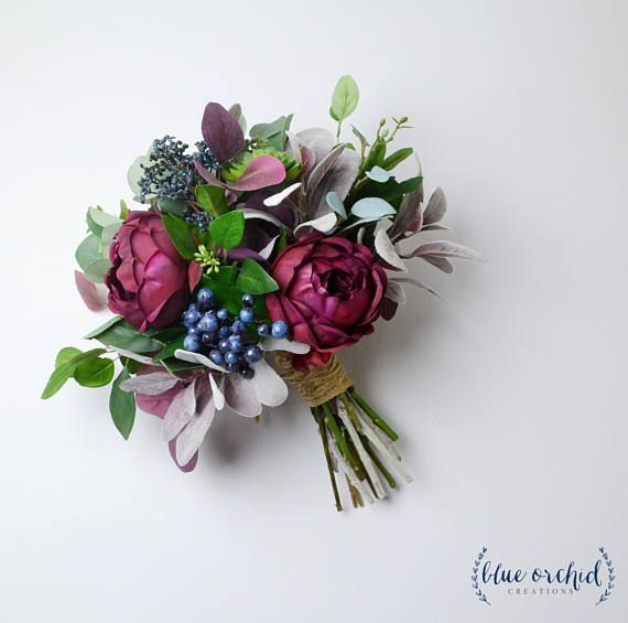 Wedding bouquet, wedding flowers, boho bouquet, bridal bouquet, garden bouquet, …