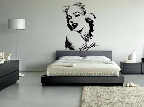 Marilyn Monroe Decor Vinil Decorativo Marilyn Monroe