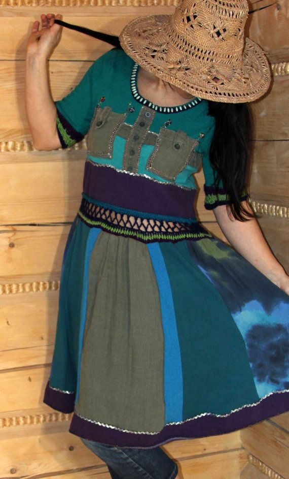 Funny dress tunic by jamfashion on Etsy, $68.00