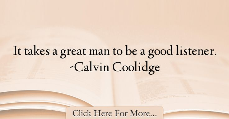 Calvin Coolidge Quotes About Good - 28754