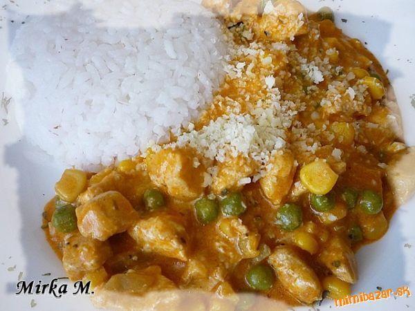 Kuracie soté v zeleninovo-syrovej omáčke
