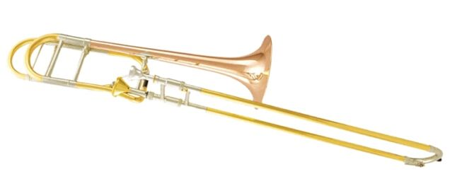 (930.00$)  Watch now - http://aihzh.worlditems.win/all/product.php?id=1884001621 - Bb/F Thayer valve Trombone with Foam case and Mouthpiece Musical instruments Shipping time 10-15 days