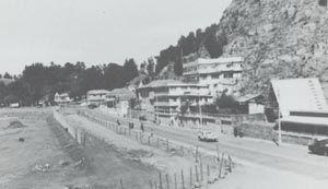 Playa Los Gringos, circa 1960.