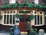 The Town of Ramsgate (ex the Red Cow) - Ghost of the George Jeffreys seen repeatedly on the stairs here Location: Town of Ramsgate Pub, Wapping, E1W 2PN Description: Jeffreys, the infamous Hanging Judge, was arrested on the steps outside this pub that lead down to the Thames; he was dressed as a sailor, trying to flee the country. His spirit remains trapped on the stairs, reportedly seen by river police in recent years.