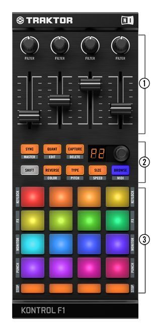 Traktor Kontrol F1 from may 30th: