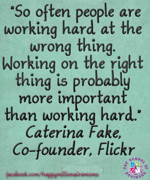 http://yayschoolofbusiness.com/blog Women entrepreneurs quotes from women entrepreneurs Caterina Fake