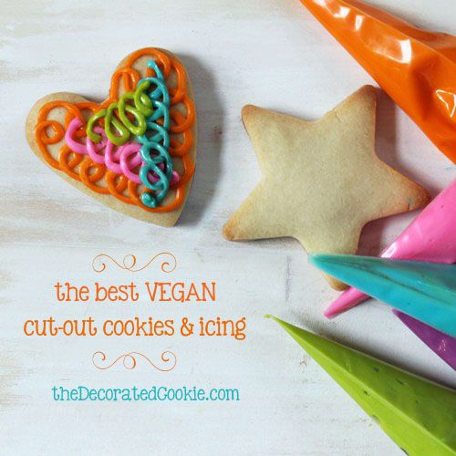 For my vegan friends...cut-out cookies and icing! from @Meaghan Mountford