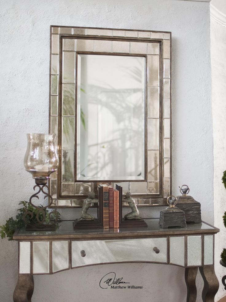 Uttermost Almont Bronze Mosiac Mirror