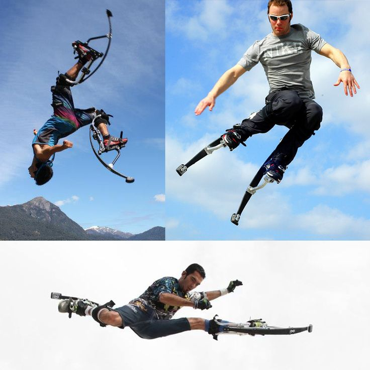 Air-Trekkers - Extreme Jumping Stilts - The Green Head