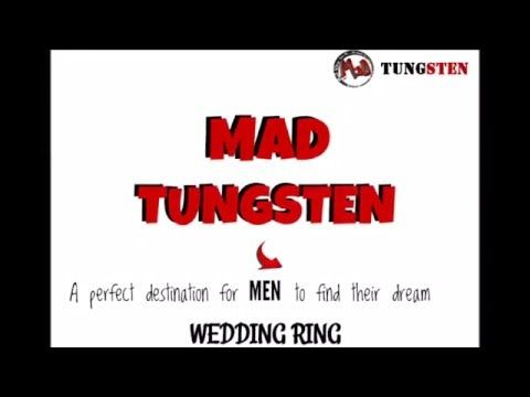 Get best tungsten rings for man from mad tungsten